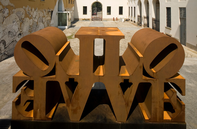 Robert Indiana_PAC 2008